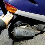 ディオの出張タイヤ交換