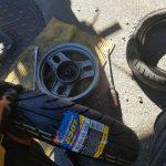 タイヤ交換のディオ