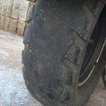 摩耗したズーマーのタイヤ