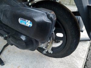 タイヤとホイールが分離