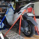バイク回収修理