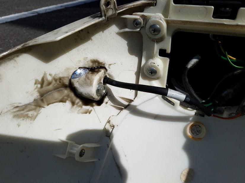 スクーター外装修理