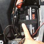 CBRバッテリー交換