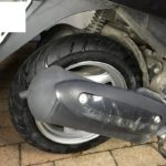 レッツGの出張タイヤ交換