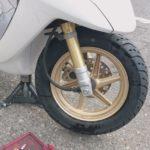 原付出張タイヤ交換