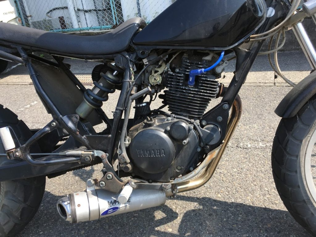 TW200のエンジンがかからない