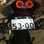 VTR1000Fテールランプ交換