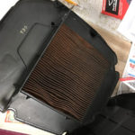 VTR1000Fのエアクリーナー