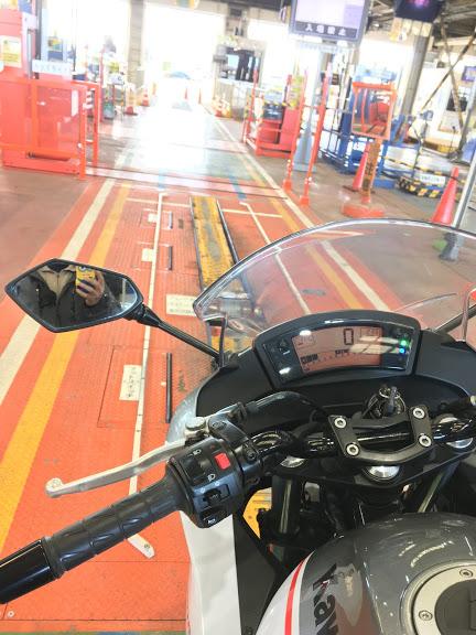 当店のバイク車検