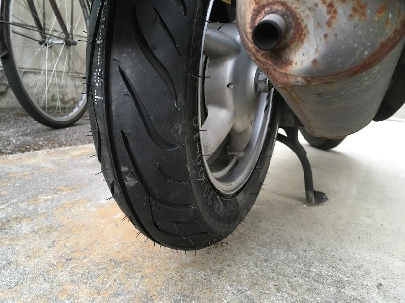 ビーノの出張タイヤ交換