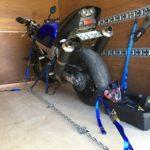 大型バイク搭載