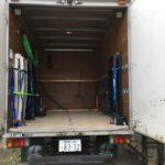 バイク積載トラック