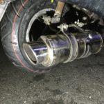 フュージョンの出張タイヤ交換