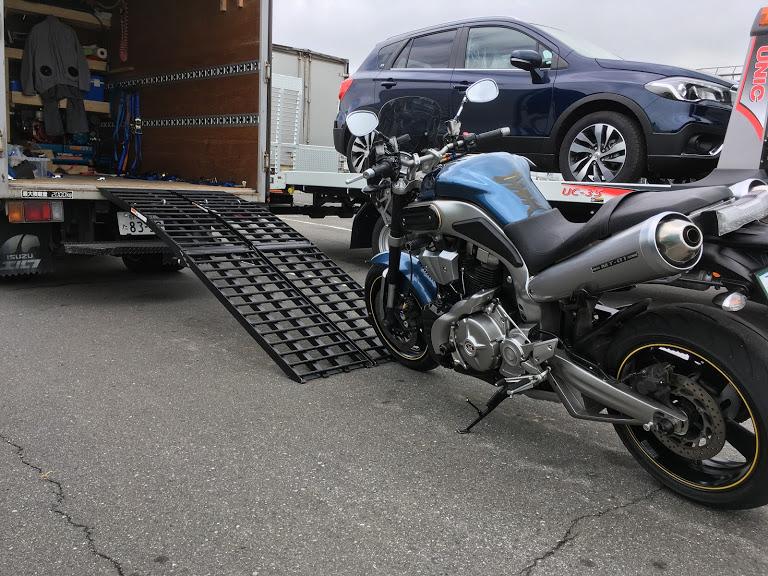 MT-01のバイクユーザー車検代行