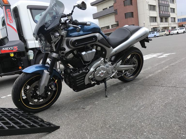 バイク車検のMT-01