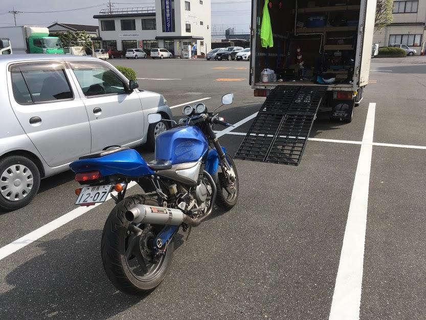 グースのバイク車検