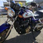 バイク車検のCB1300