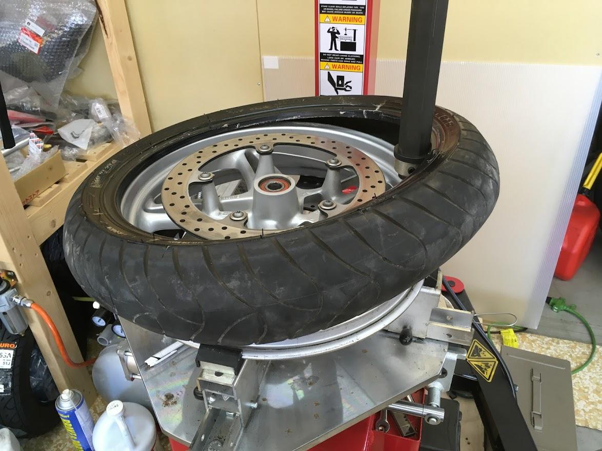 BMWのタイヤ交換